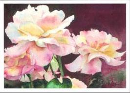 Kunst-Doppelkarten mit hochwertigem Briefumschlag im Cellophantütchen. Motiv: Schöner als Salomos Seide