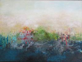 Von Ewigkeit zu Ewigkeit. Ölbild auf Leinwand (2020). 80 cm x 60 cm.