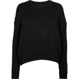 """Siff Sweater"" by basic apparel - Black"
