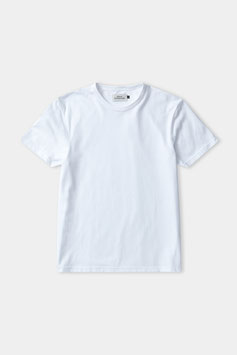 """Liron T-Shirt"" by About Companions - Eco  Piqué White"