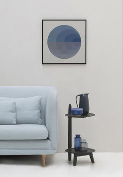 """Gradient Blue Poster"" by VISSEVASSE"
