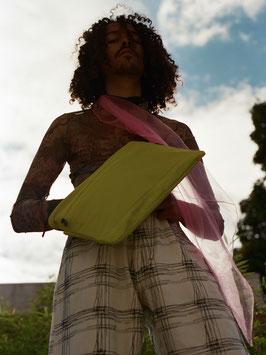 """Le Musette Cross Bag"" by PSSBL - Urban Yellow / Rhodamine"