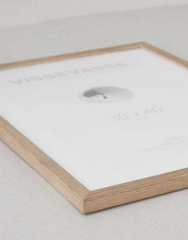 """Holzrahmen Solid Oak 30x40cm"" by VISSEVASSE"