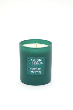 """""""Contemporaries Scented Candle"""" by Coudre Berlin - Cucumber & Nutmeg"""