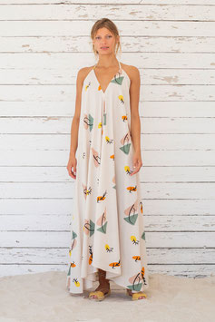 """""""Daphne Long Multiposition Dress"""" by Suite 13 - Print"""