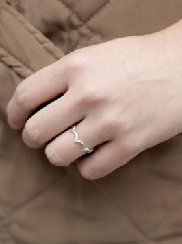 """""""Wave Ring Silber"""" by ting goods"""