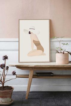 """""""Summer Girl Poster"""" by VISSEVASSE"""