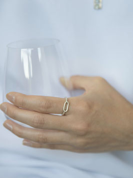 """""""Link Ring Silber"""" by ting goods"""