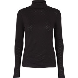 """""""Arense Roll Neck"""" by basic apparel - Black"""