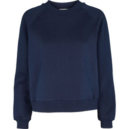 """Maje Sweater"" by basic apparel - Navy"