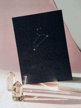 """Letterpress Sternzeichen A5"" by Anna Cosma"