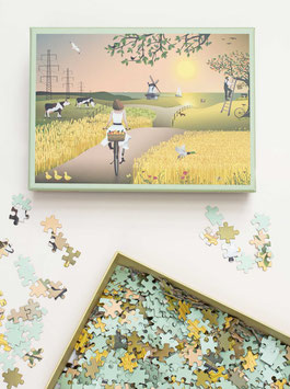 """""""A Fine Day"""" Puzzle by ViSSEVASSE - 1000 Teile"""