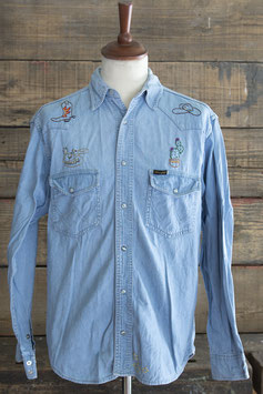 Wrangler Authentic Western Shirt Gr S