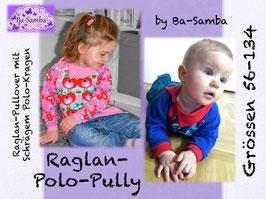 Raglan-Polo-Pully