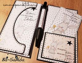 Hülle für Kellnerblock und Stift
