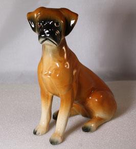 Porzellan Hund Boxer von Jema