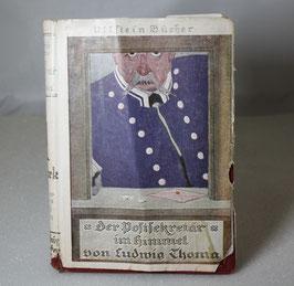"""Altes Buch """"Der Postsekretär im Himmel"""""""