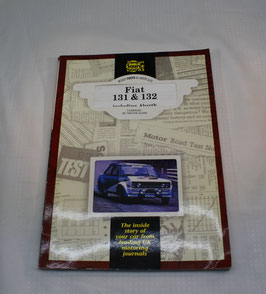 Buch Fiat 131 & 132, Roadtests & Articles, TSB 183 in Englisch