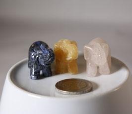 Edelstein Figur Elefanten