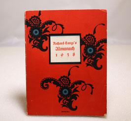 Buch Almanach 1938