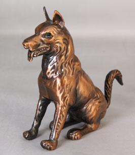 Vintage Tisch Feuerzeug Hund, von ca. 1970