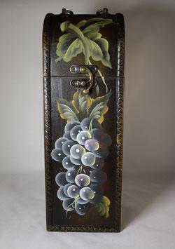 Weinkiste aus Holz - Handarbeit