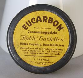 alte Blechdose von EUCARBON Kohletabletten