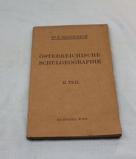 Österreichische Schulgeographie II. Teil von 1927