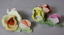 2 Stück Porzellan Rosen von AQuincum