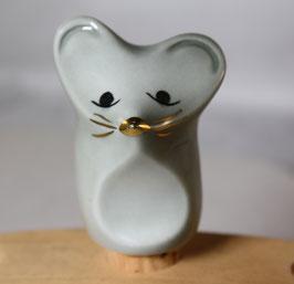 Flaschenverschluß, Porzellan Maus von Wagner & Apel