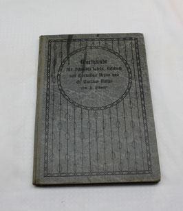 Wortkunde für Schmidts lateinisches Lesebuch von 1905