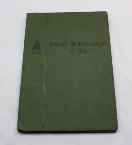 Erdkunde für Mittelschulen III. Teil von 1910