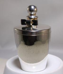 Parfumbehälter versilbert