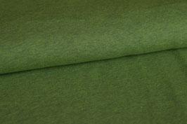 Kuschelsweat grün meliert, Rest 0,9