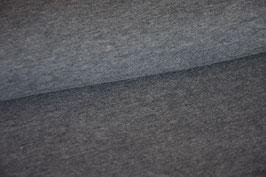 Kuschelsweat blaugrau meliert