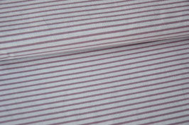 Jersey Classic Stripes, old rose
