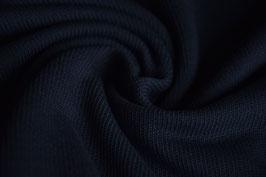 Feinstrick uni dunkelblau