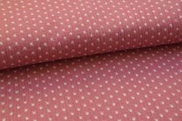 Musselin Kronen pink