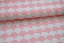 Canvas Wellen rosa