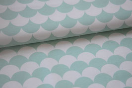 Canvas Wellen mint