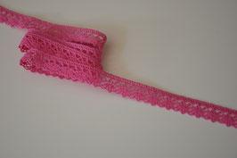 1m Klöppelspitze pink, 14mm