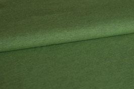 Baumwolljersey grün meliert