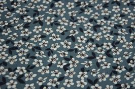 Baumwolljersey Flowers