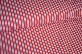 Jersey Streifen, rot