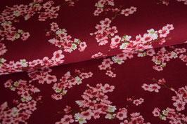 Bio Soft Sweat Cherry Blossom, weinrot