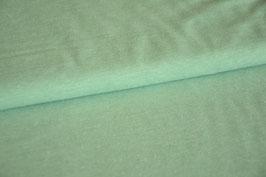 Baumwolljersey hellgrün meliert