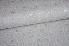 Alpenfleece Sterne mit Glitzer
