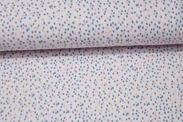 Baumwolljersey Spots rosa