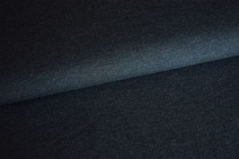 Viskosejersey dunkelgrau meliert