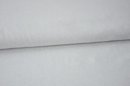 Jersey Classic Mini Stripes, light grey
